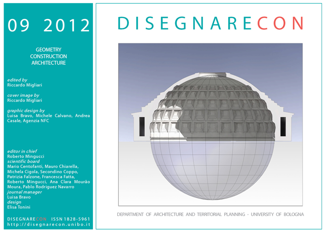 View Vol. 5, n. 9 (2012) - Geometry - Construction - Architecture, edited by Riccardo Migliari